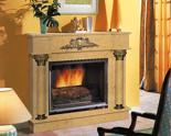 03356467 Portal marmurowy Madera Palace do wkładów żeliwnych standardowych (kolor: Rosso Verona)