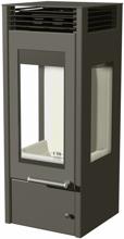 07135642 Piec wolnostojący Austroflamm 4kW Glass