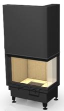 """48931829 Wkład kominkowy 14kW ARYSTO 10 P """"SJ"""" H szyba podnoszona do góry (drzwiczki prawe jednolite, wymiar frontu: 650 + 370 x 510)"""