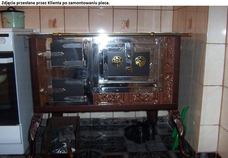 Dostawa Gratis 92238167 Kuchnia Kaflowa Angielka 11kw Dominika Bez Plaszcza Wodnego Kolor Braz