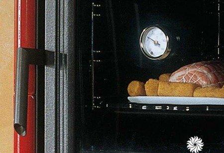 DOSTAWA GRATIS! 88810884 Piec wolnostojący z piekarnikiem La Nordica 8kW NICOLETTA FORNO BO (piekarnik, kolor: bordo)