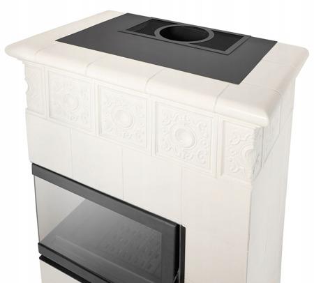DOSTAWA GRATIS! 99672765 Piec wolnostojący 13kW (kolor: biały) - spełnia anty-smogowy EkoProjekt
