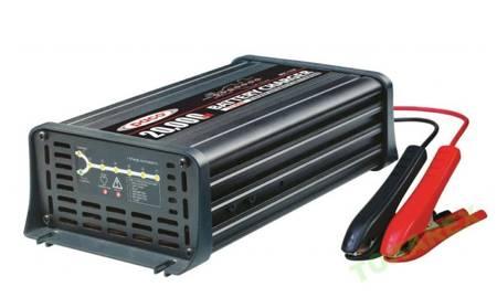 KOLAG ŁADOWARKA IMPULSOWA 7 ETAPÓW (moc znamionowa: 12 V DC, 20000 mA, zakres baterii: 134-400Ah) 22678158