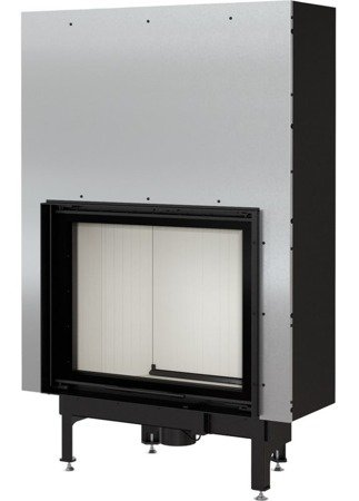 KONS Wkład kominkowy 13kW Nadia Gilotyna (szyba prosta, drzwi podnoszone do góry) - spełnia anty-smogowy EkoProjekt 30046762