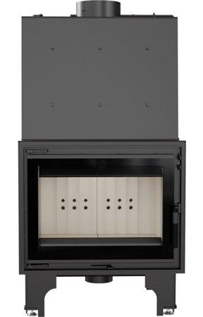 KONS Wkład kominkowy 14kW AQUARIO Z14 PW GLASS z płaszczem wodnym, wężownicą (szyba prosta) - spełnia anty-smogowy EkoProjekt 30065524