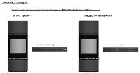Piec wolnostojący Invicta 6kW Alcor + dolot powietrza (wylot spalin: góra, kolor: antracyt) - spełnia anty-smogowy EkoProjekt 86854925