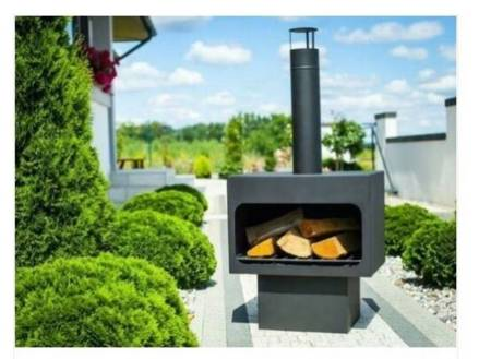 WOLAG Piec tarasowy kominek zewnętrzny ogrodowy piecyk 24378388