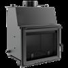 DOSTAWA GRATIS! 30041285 Wkład kominkowy 12kW Zuzia z płaszczem wodnym, wężownicą (szyba prosta) - spełnia anty-smogowy EkoProjekt